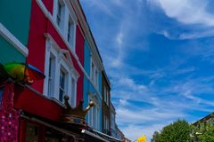 Portobello Market in Notting Hill, London, England, UK royalty free stock photo