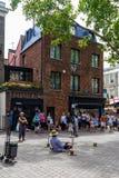 Portobello Market in Notting Hill, London, England, UK stock photos