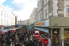 Portobello Markt stockfotos