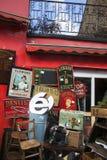 Portobello Markt Stockbild