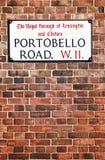 Portobello Road Stock Image