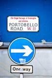 Portobello Road Royalty Free Stock Photography