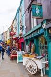 Portobello Road in London, UK Stock Image