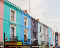 Portobello Road in London Royalty Free Stock Photo