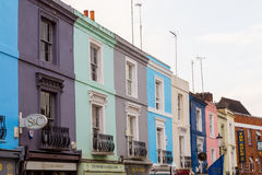 Portobello Road in London Royalty Free Stock Image