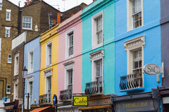 Portobello Road in London Stock Image