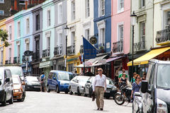 Portobello Road, London Stock Photo