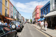 Portobello Road, London Royalty Free Stock Images