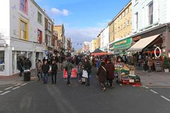 Portobello Road London Royalty Free Stock Images