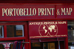 Portobello Road Market Stock Photo