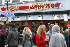 Portobello Road Market Royalty Free Stock Images
