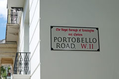 Portobello Straße Lizenzfreies Stockbild