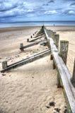 Portobello strand Royaltyfria Foton