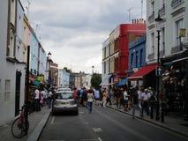 Portobello väg Fotografering för Bildbyråer