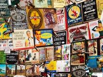 Portobellomarkt, Londen Stock Foto