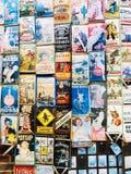 Portobellomarkt, Londen Stock Fotografie