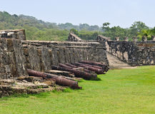 Portobelo Fortress, Panama Royalty Free Stock Images