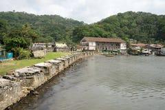 Portobelo Panama colonial fort ruins Stock Image
