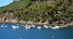 Portoferraio-Bucht, Panoramablick, Elba Island stockfotografie