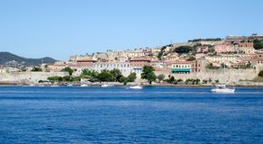 Portoferraio coast Stock Photography