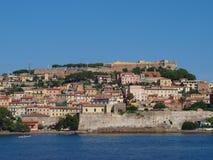 Portoferraio, Eiland van Elba, Italië royalty-vrije stock foto