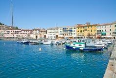 Portoferraio, Elba Island, Italien stockbild