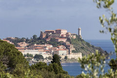 Portoferraio, Forte Stella (star fort), Porto Ferraio, Elba, Tuscany, Italy Royalty Free Stock Image
