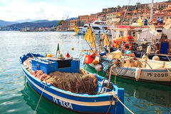 The Portoferraio haven Royalty Free Stock Images