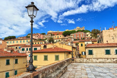 Portoferraio - ilha da Ilha de Elba Fotos de Stock Royalty Free