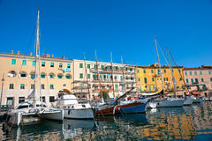 Portoferraio, Insel von Elba, Italien. lizenzfreie stockbilder