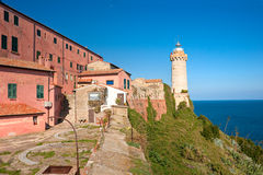 Portoferraio, Insel von Elba, Italien. stockbilder