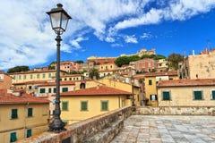 Portoferraio - isla de Elba Fotos de archivo libres de regalías
