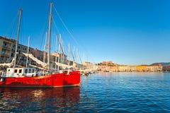 Portoferraio Isle av Elba, Italien. arkivfoton