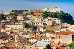 Portoferraio, Isle of Elba, Italy. Royalty Free Stock Images