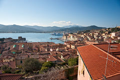 Portoferraio, Isle of Elba, Italy. Royalty Free Stock Photos
