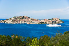 Portoferraio, Isle of Elba, Italy. royalty free stock photography