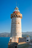 Portoferraio lighthouse,, Isle of Elba, Italy. Stock Photo