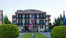 Portofico hotel, Vasiliki, Lefkada Obraz Stock