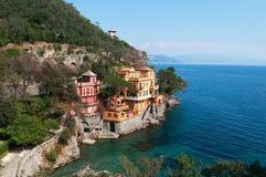 Portofino, Γένοβα, Λιγυρία, Ιταλία, ιταλικό Riviera, Ευρώπη Στοκ εικόνες με δικαίωμα ελεύθερης χρήσης