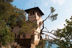 Portofino, Γένοβα, Λιγυρία, Ιταλία, ιταλικό Riviera, Ευρώπη Στοκ εικόνα με δικαίωμα ελεύθερης χρήσης