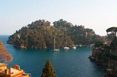 Portofino, Γένοβα, Λιγυρία, Ιταλία, ιταλικό Riviera, Ευρώπη Στοκ Εικόνες