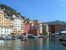 portofino της Ιταλίας πόλεων Στοκ εικόνα με δικαίωμα ελεύθερης χρήσης