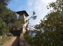 Portofino, Генуя, Лигурия, Италия, итальянка Ривьера, Европа Стоковое Фото