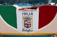 Portofino, Генуя, Лигурия, Италия, итальянка Ривьера, Европа Стоковая Фотография