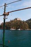 Portofino, Генуя, Лигурия, Италия, итальянка Ривьера, Европа Стоковые Изображения RF