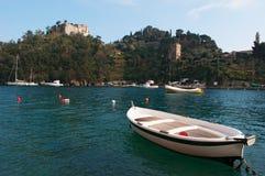 Portofino, Генуя, Лигурия, Италия, итальянка Ривьера, Европа Стоковые Изображения