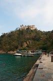 Portofino, Генуя, Лигурия, Италия, итальянка Ривьера, Европа Стоковая Фотография RF