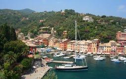 portofino Италии стоковое фото