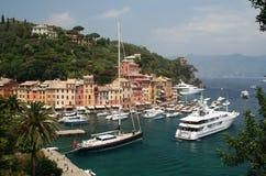 portofino Италии стоковые фотографии rf