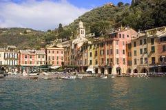portofino Италии Стоковая Фотография